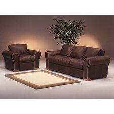 Scottsdale 4 Seat Leather Living Room Set