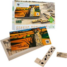 WWF Cheetah Dominoes from FSC Certified Wood