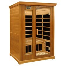 2-Person Luxury Cedar Infrared Sauna