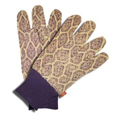 Ladies Patterned Mini Dot Jersey Gloves