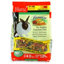 Nutrition Bonanza Rabbit Gourmet Diet (4 Lbs)