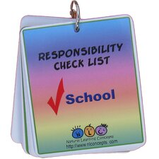 Picture Schedule for School - Responsibility Checklist