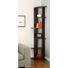 Belmont 5 Shelf Corner Bookcase