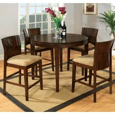 Modest 5 Piece Counter Height Dining Set