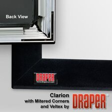 Clarion with Veltex Projection Screen