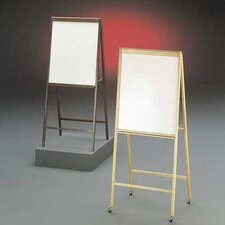 DR Series Magnetic Whiteboard Solid Hardwood A-Frame Easel