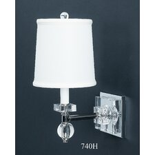 Crystal 1 Light Estrella Wall Sconce