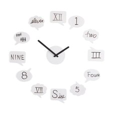 Tick Talk Wall Clock