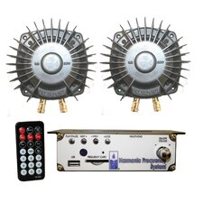 2-Transducer Portable Harmonic Massage Kit