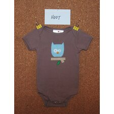 Hoot Organic Bodysuit or Tee
