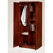 Del Mar Double Door Storage Wardrobe/Cabinet