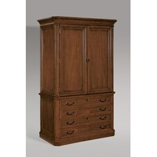 Arlington Storage Cabinet Top in Medium Walnut