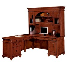"Antigua Left Computer ""L"" Executive Desk"