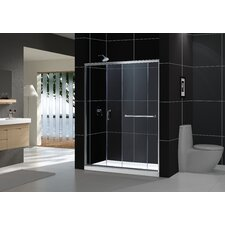 Infinity-Z Sliding Shower Door