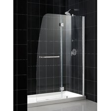 Aqua Hinged Shower Door and SlimLine Shower Base