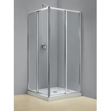 Cornerview Sliding Shower Enclosure