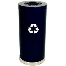 "15"" W Single Stream Recycling Unit with One Opening"