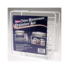 China and Dinnerware Organizer Set