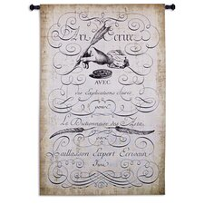 Art of Penmanship Tapestry Wall Hanging