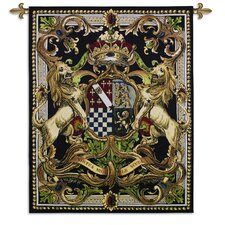 Crest On Black II Tapestry