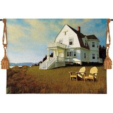 Oceanfront View Tapestry