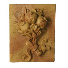 Pomegranate Harvest Frieze Wall Decor