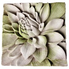 Dahlia Plaque Wall Decor