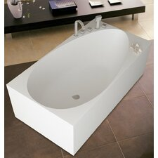 "PureScape 67"" x 32"" Freestanding AquaStone Bathtub"