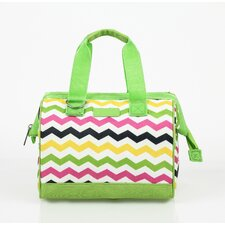 Insulated Fashion Style 34 Chevron Lunch Tote