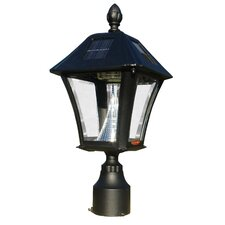 Lewiston Post (Ornate Base and Solar Lamp)