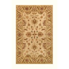 Golden Beige/Light Green Rug