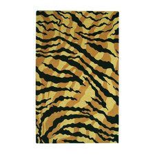 Safari Gold/Black Rug