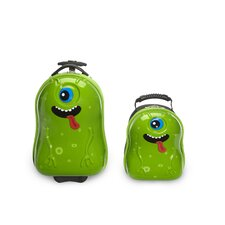 2 Piece Archie Alien Children's Luggage Set