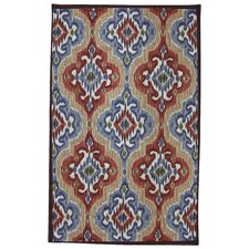 Outdoor/Patio Primary Mystic Ikat Rug