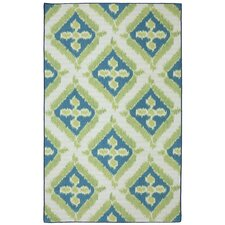 Outdoor/Patio Multi Summer Splash Rug