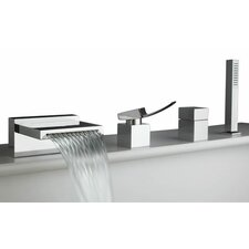 Quarto Single Handle Deck Mount Roman Tub Faucet Trim