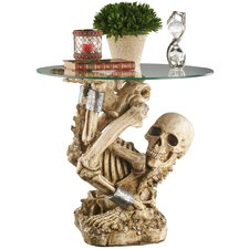 The Contortionist Skeleton End Table