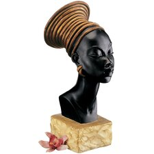 Nubian Kandake Sculptural Bust (Set of 2)