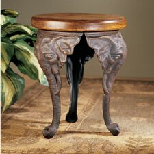Three Elephants of Timbe Sculptural End Table