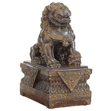 Chinese Guardian Female Lion Foo Dog Statue