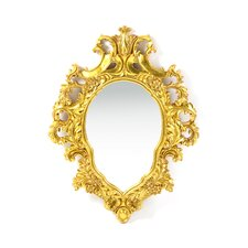 Madame Antoinette Salon Mirror in Faux Antique Gold