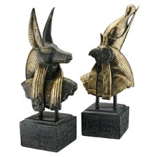 Gods of Ancient Egypt Sculpture (Set of 2)
