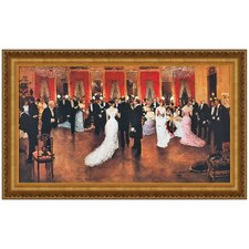 An Evening Soiree Replica Painting Canvas Art