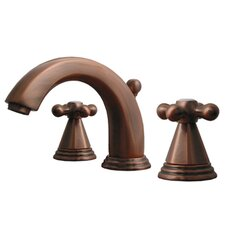 Blairhaus Widespread Truman Bathroom Faucet with Double Cross Handles