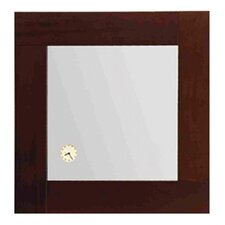 Antonio Miro Square Mirror with Wood Frame