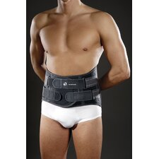 Mini Lumblock Lumbar Sacral Back Brace in Dark Grey
