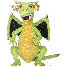 Dragon Enchanted Puppet in Green