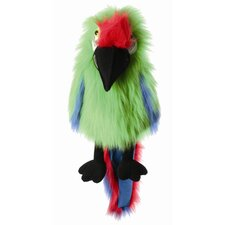 Large Birds Military Macaw Puppet