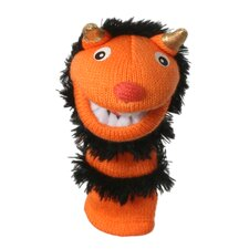 Mini Sockettes Pumpkin Finger Puppet