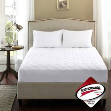 Brighton 300 Thread Count Dobby Dot Mattress Pad with 3M Repel and Release